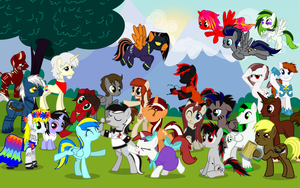 MLP:FIM - OC Class of 2012 by PhilipTomkins