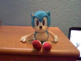 My First Sonic Plush by DarkGamer2011