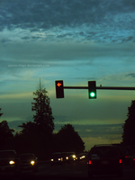 Next street, another stoplight by saturn-rings