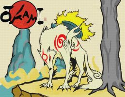 My 2nd OKAMI entry by DioMahesa