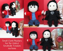 Clark plushies by snappop