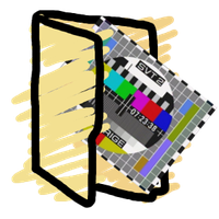TV series folder icon by Obinoobie