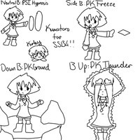 Kumatora for SSB4: Moveset by Squiggles-8D