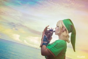 TLOZ Ocarina of time - Link (Female Ver.) 5 by luchia-28