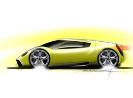 miura sideview sketch by p-sketch