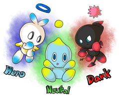 Some chao thing by Zipo-Chan