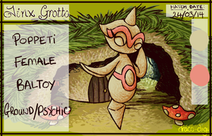 PKMNation Popetti the Baltoy OLD