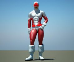Captain Canuck 2nd skin textures 4 M4 by hiram67