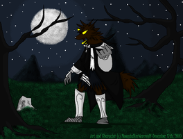 Midnight Walk NEW by MoonstalkerWerewolf