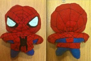 Spiderman Plushie by CheesyHipster
