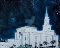 Guayaquil, Ecuador LDS Temple by Ridesfire