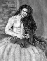 Jon Snow Game Of Thrones by ShonnaWhite