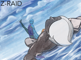 Commission: Fi vs Ghirahim by Z-Raid