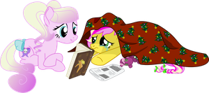 Cerise Proceleen and Strawberry Bitchcake by PrinceOfRage