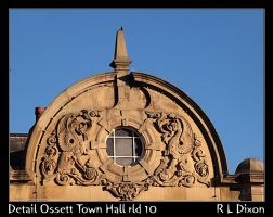 Detail Ossett Town Hall rld 10 dasm by richardldixon