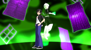 MMD: Danny Phantom Raione Ver. by SaziSkylion