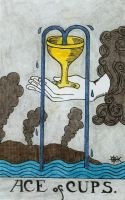 Ace of Cups by Fernoll