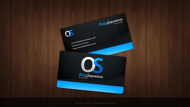 Business Card by ald890
