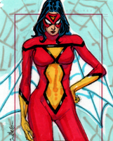 Spider-Woman by Moltenman1997