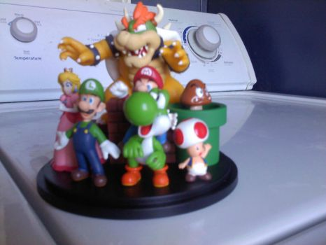 Nintendo Figurine - Frontish by ace1o1