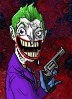 The Joker by lemonheaded
