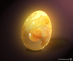 World Egg by Citronade-Arts