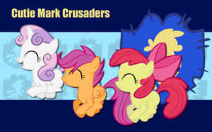Cutie Mark Crusaders WP 5 by AliceHumanSacrifice0