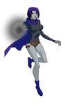 Teen Titans Raven YJ Style by Bobkitty23