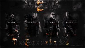 the expendables wallpaper # 2 by corki-gfx