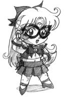 Chibi Sailor V by OptimusPraino