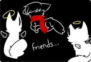 Friends... by Contract-Bound