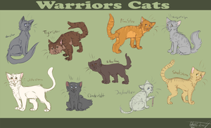warriors cats by otahi-kun