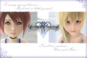 Kingdom Hearts II Desktop by hottydollyz