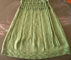 Green Skirt by Leoness