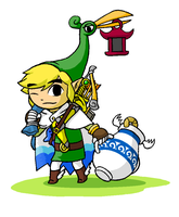 Minish Cap Items Overloaded by swordxdolphin