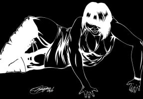 KIMBERLY S. INVERTED INK by Artistik-Bootya