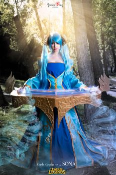 Sona - League of Legends by LeydaCosplay