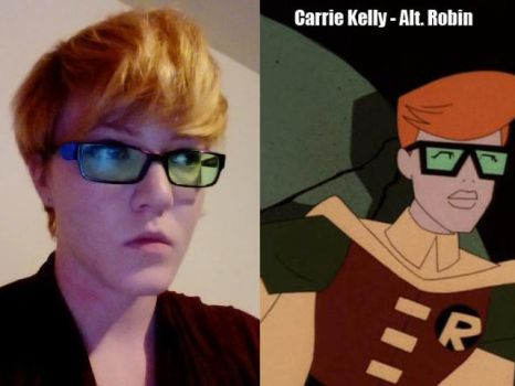 My next cosplay is carrie kelly by Keijung