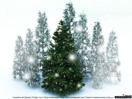 Archigraphs Xmas Wallpaper by Cyberella74