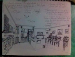 """""""The Kitchen"""". by Kaypearl"""