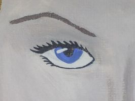 Eye (from pin up in red) by webb42