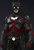 Iron Batman by jmcnutt420