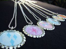 My Little Pony Friendship is Magic Basic Necklaces by Monostache