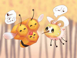 Combee and Cutiefly