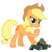 Applejack - Damsel in Distress by Coolez