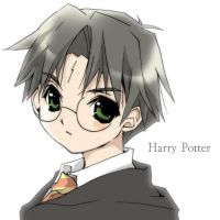 Harry Potter CURSOR by Lunasakurahime