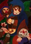 Bilbo and seven dwarfs by faQy