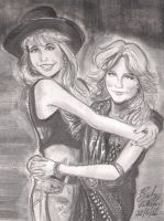 Lita and Doro by cozywelton