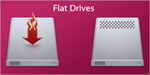 Flat Drives for Windows by susumu-Express