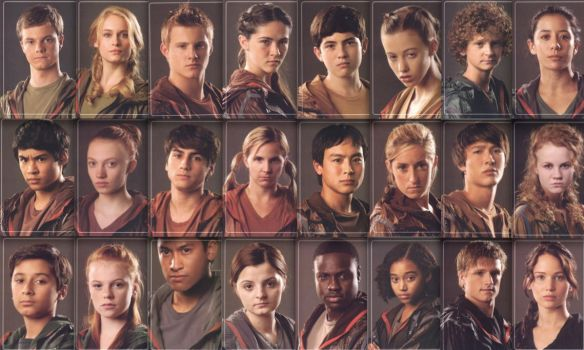 Tributes of The hunger Games Wallpaper by BoyWithAntlers